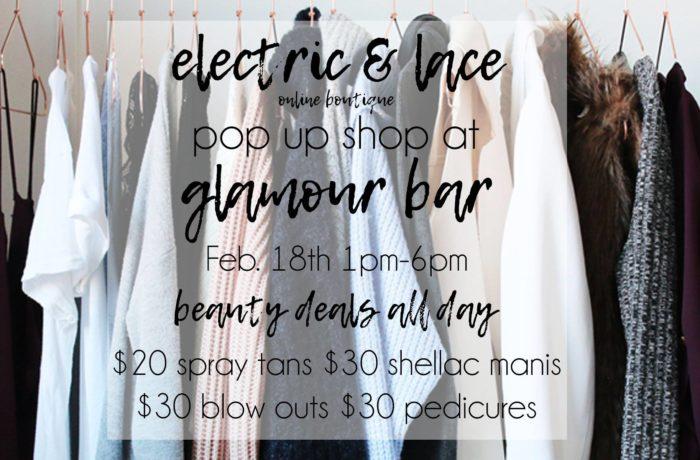 Electric + Lace Boutique Pop Up Shop
